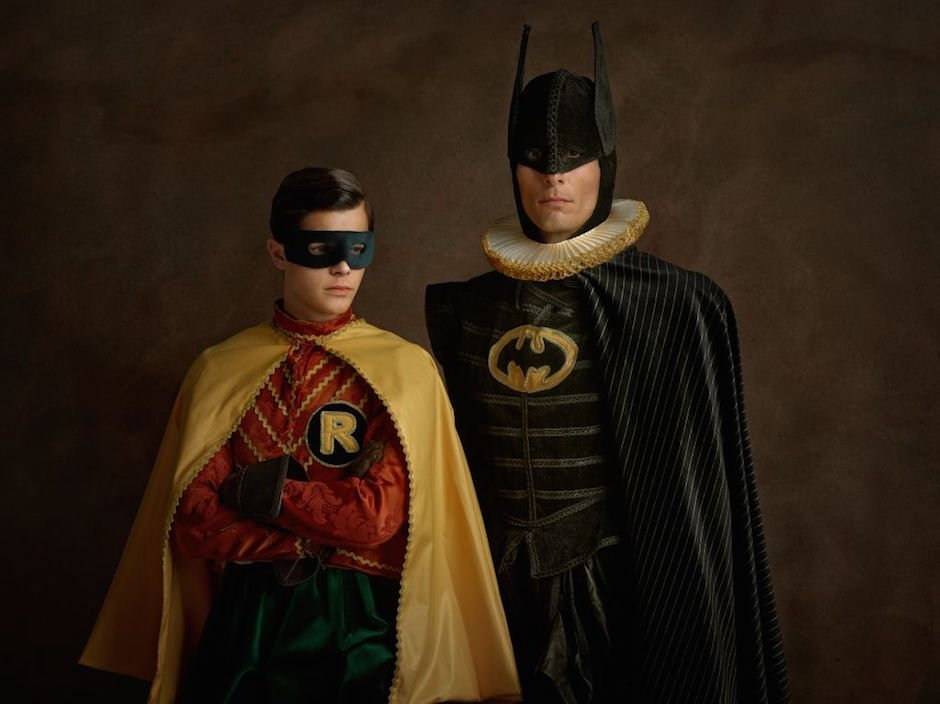 Elizabethan Superheroes photographed by Sacha Goldberg