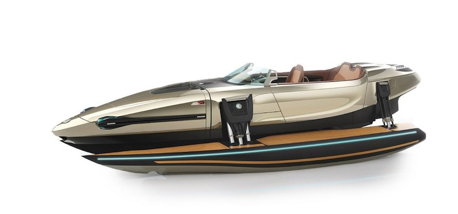 Kormaran Six Mode Convertible Speedboat 6in1 James Bond