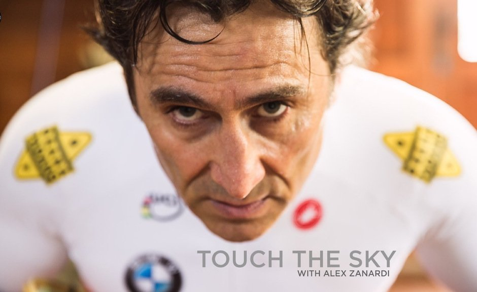 Alex Zanardi Motivation Portrait Touch The Sky Paralympics BMW Athlet Behindert Wille Motivation