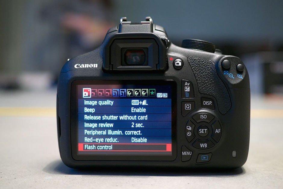 Campm EPS 1200D Display Backscreen Technik Fotograf 7 Kamera Tricks