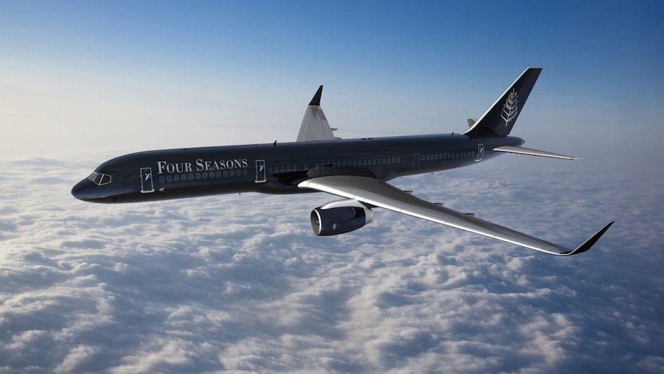 Luxus in der Luft: Four Seasons-Jet bringt dich um die ganze Welt