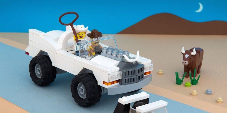 50 US-Bundesstaaten aus LEGO: Der ultimative USA Roadtrip mit Bausteinen