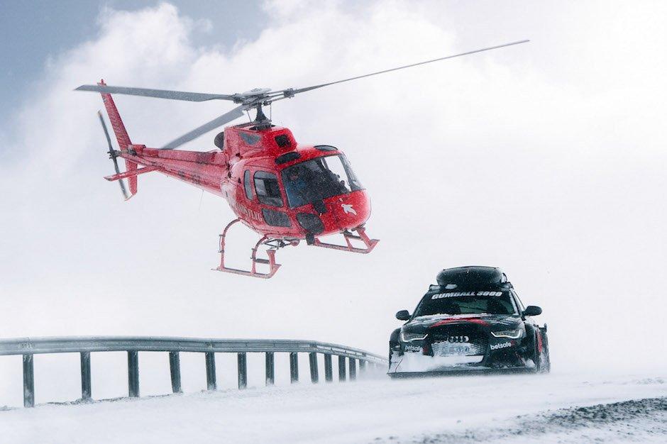 Besser als jedes Räumfahrzeug: Jon Olssons 950-PS Audi RS6 Avant DTM