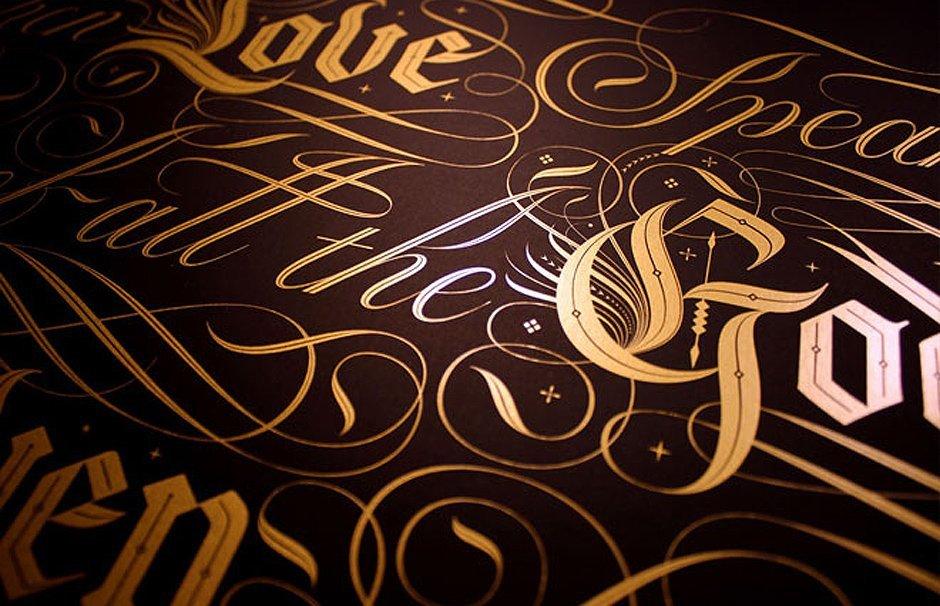 Seb Lester Calligraphy Kalligraphie Typography Kunst Pilot Parallel Pen