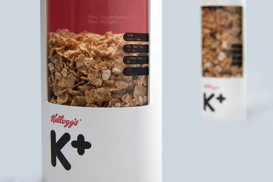 Kult redefiniert: neue Kellogg's Special K-Verpackungsdesigns