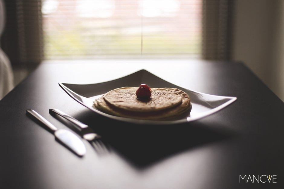 American-Pancakes-Teller-Angerichtet