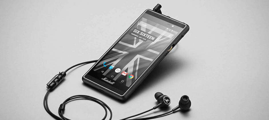 Marshall London Android Smartphone Music Lautsprecher Gadget