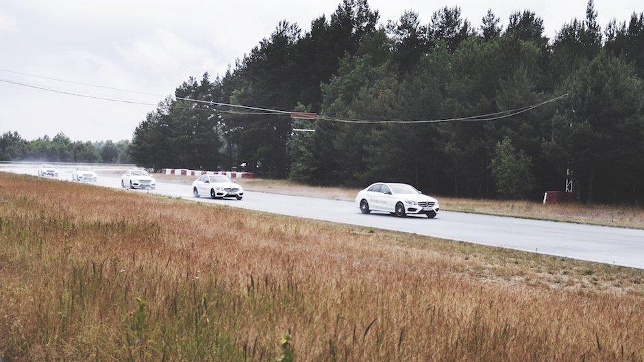 Das Beste oder nichts: Mercedes-Benz Driving Events und Bridgestone – eine starke Partnerschaft