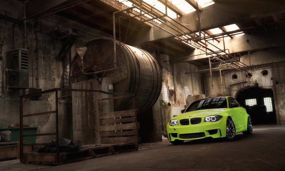 BMW 1M Coupe mit Lightweight-Performance Kit