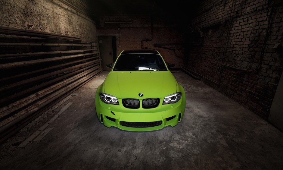 bmw-1m-front-irie-green