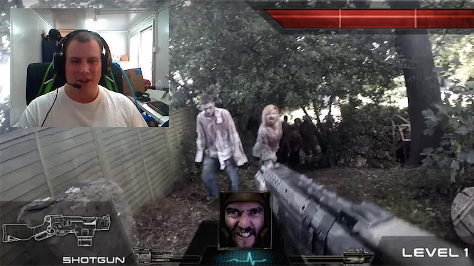 Genial: Live-Action First-Person-Shooter mit Chatroulette realisiert