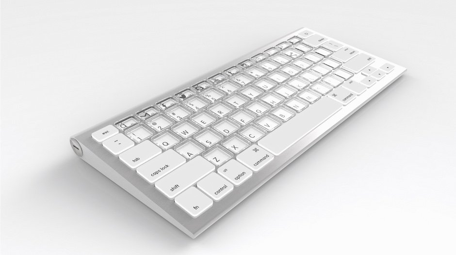 Sonder E-Ink Keyboard Tatsatur robut Layout Hardware