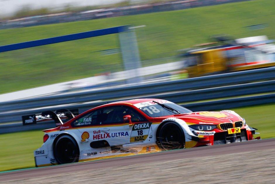August Farfus Qualifying Oschersleben DTM 2015 Samstag BMW M4 Rennstrecke Motorsport Tourenwagen