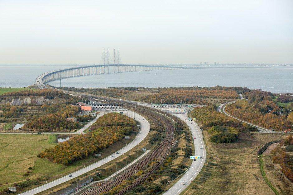 Brücke Dänemark Schweden Øresund Oresund