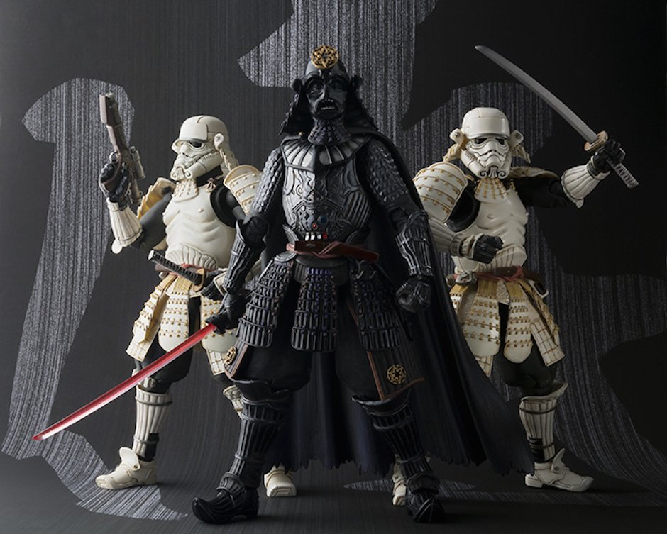 Star Wars-Actionfiguren im Samurailook von Tamashii Nations
