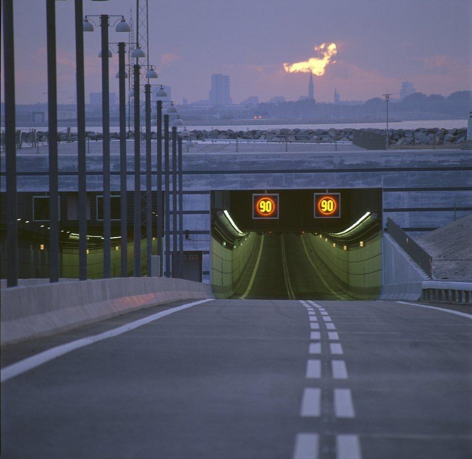 Øresund Tunnel Oresund Einfahrt