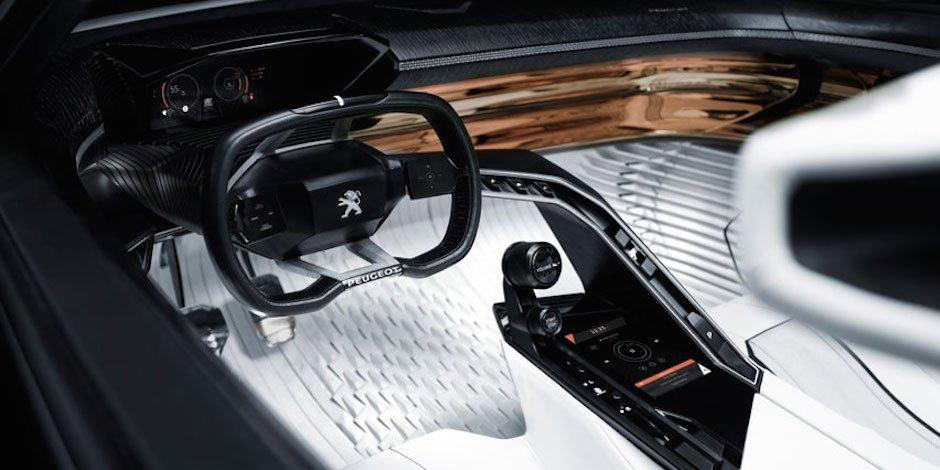 Peugeot Fractal: Elektrocoupé für die Stadt trifft den Puls der Zeit
