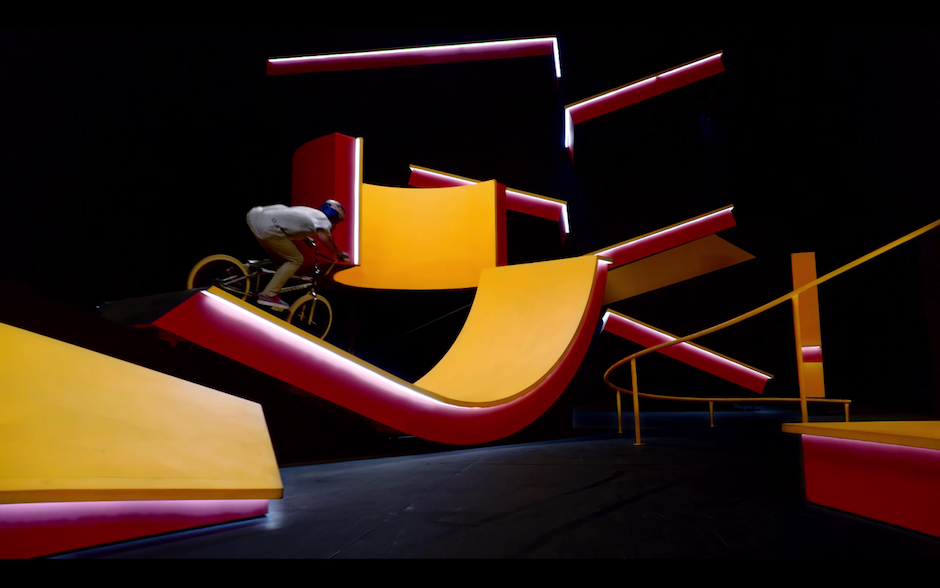 Kriss Kyle Red Bull BMX Kaleidoscope Tricks Halfpipe Jumps Kicker Video