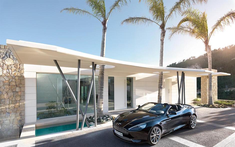 Villa Wohnviertel mit bahnbrechenden Panoramablicken Son Vida Palma