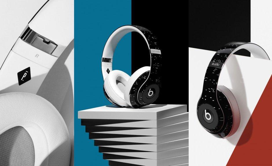 Pigalle beats Studio Wireless Headphone Limited Edition schwarz weiß modelabel französisch design details kabellos klang musik