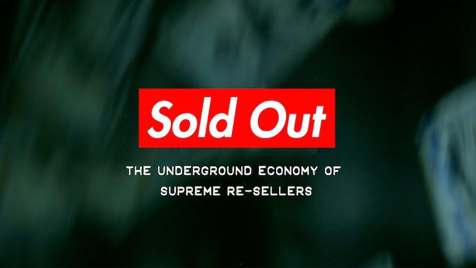 Supreme Reseller Widerverkäufer Dokumentation Sold Out Underground Economy