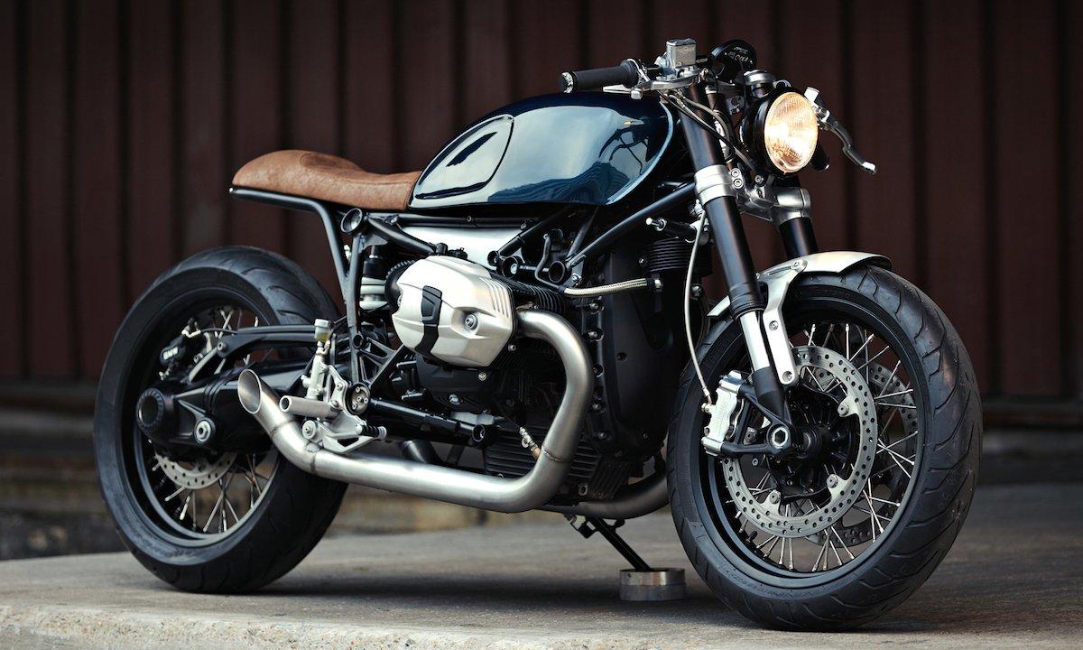 bmw r ninet caf racer von clutch motorcycles paris. Black Bedroom Furniture Sets. Home Design Ideas