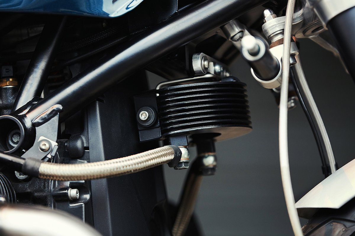 BMW R NineT Clutch Custom Motorcycles Kühler Stahlflex