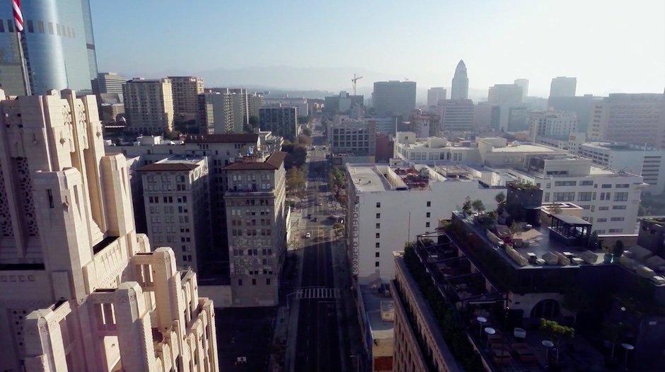 Los Angeles Ian Wood Murals Drohne Video Kunst Graffiti Straßen Kultur Geschichte