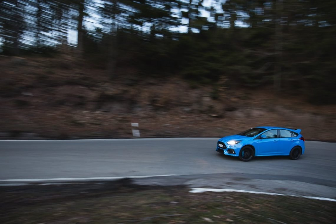 2016 Ford Focus RS Serpentine Eifel Landstraße Racing