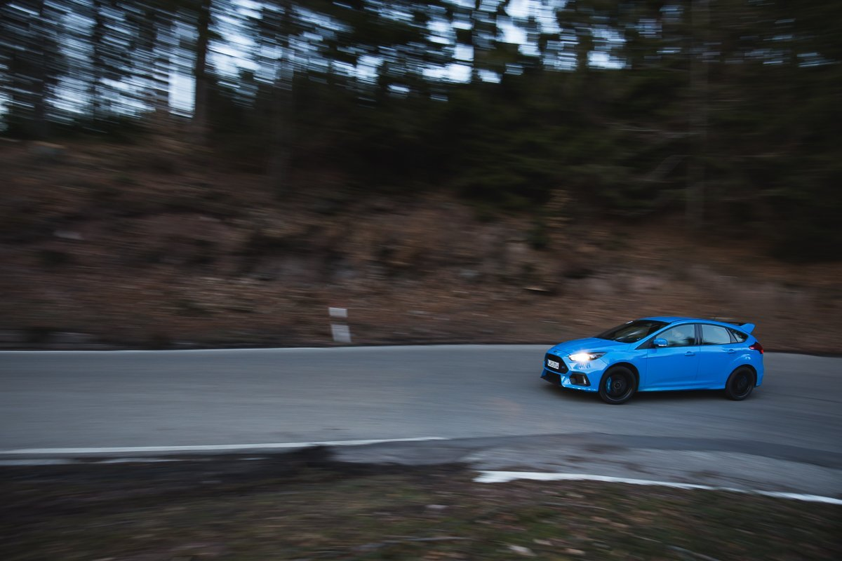 2016 Ford Focus RS Serpentine Eifel Landstraße Racing