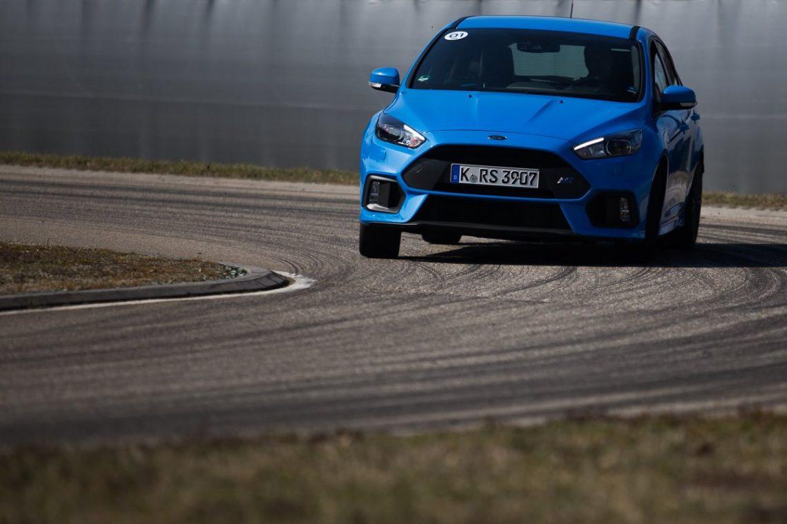 Ford Focus RS Kurvenstabilität Allrad Drift