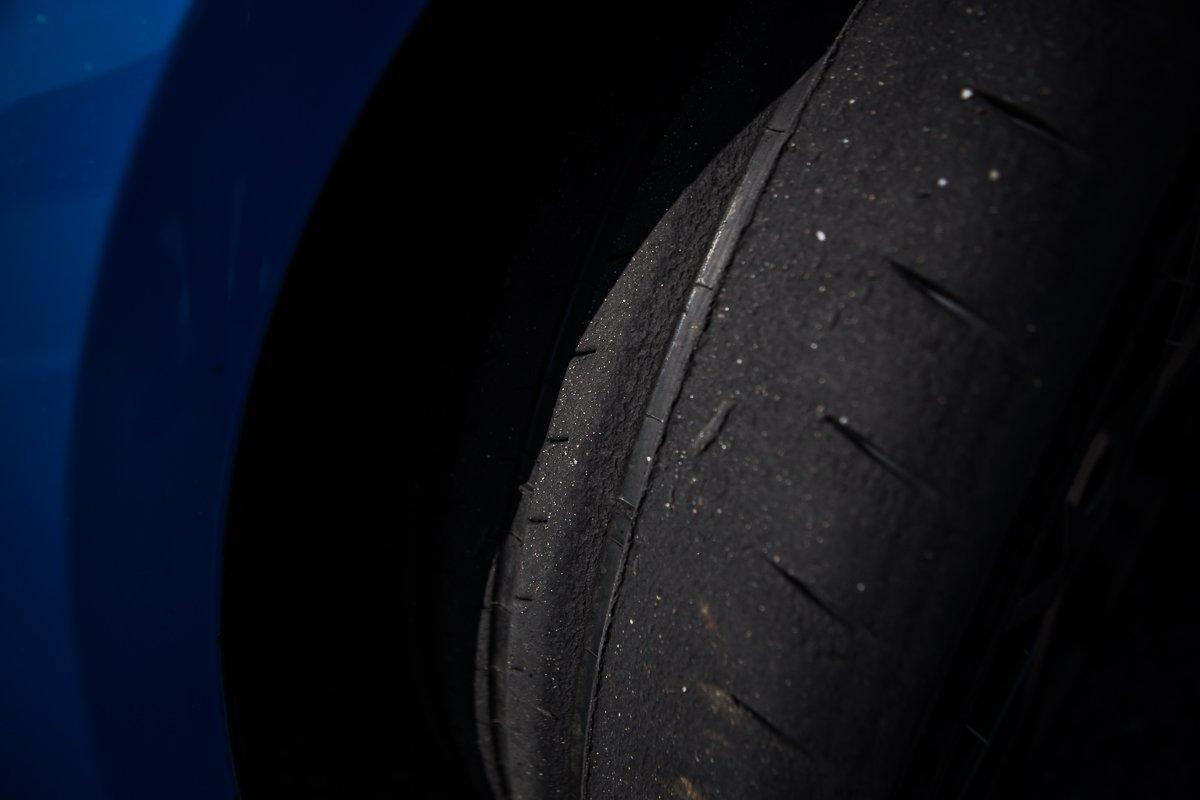Ford Focus RS Michelin Sport Cup Profil abgefahren Reifen