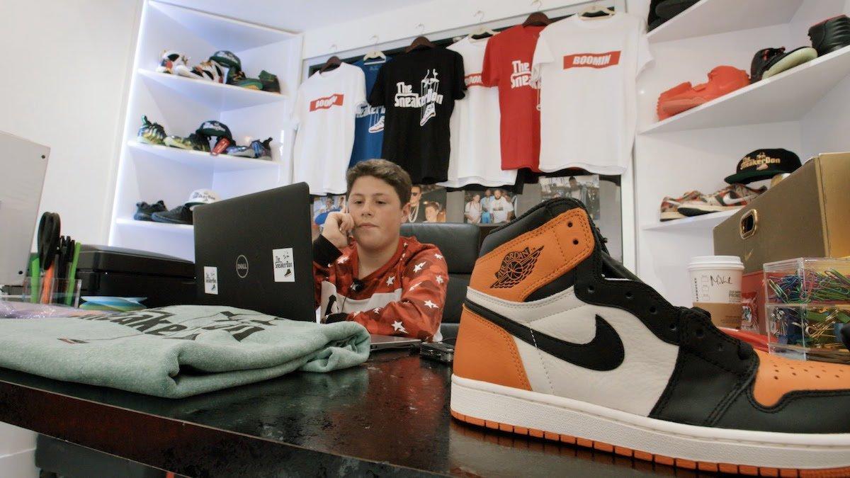 The Sneaker Don: wie ein 16 jähriger u.a. DJ Khaled und Chris Brown mit Schuhen versorgt