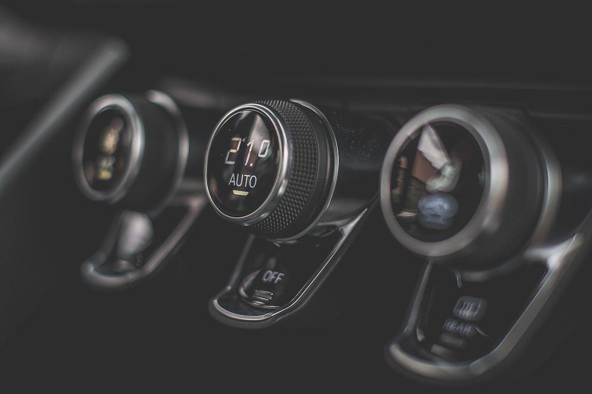 Audi R8 S4 Klimaautomatik Interieur Design