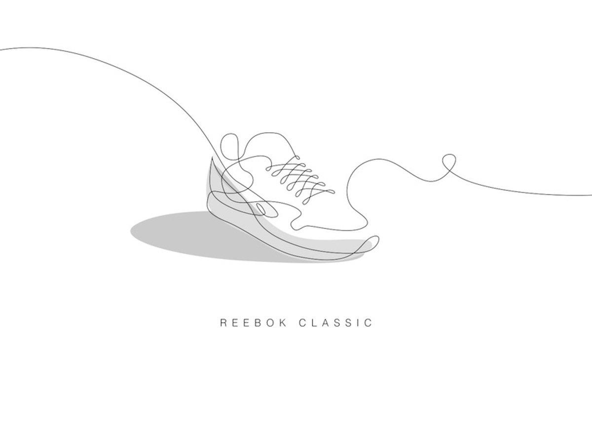 one-line-reebok-classic