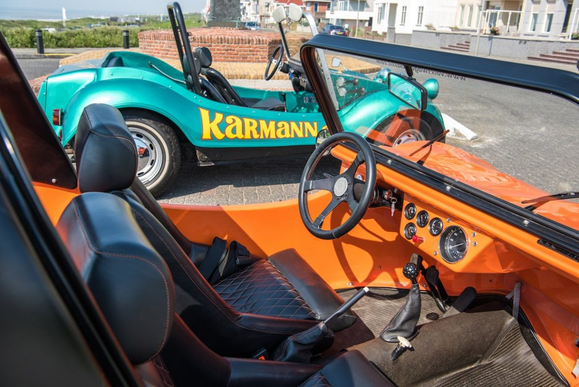Karmann G.F. Beetle Buggy Baja Buggy Offroad noordwijk strand