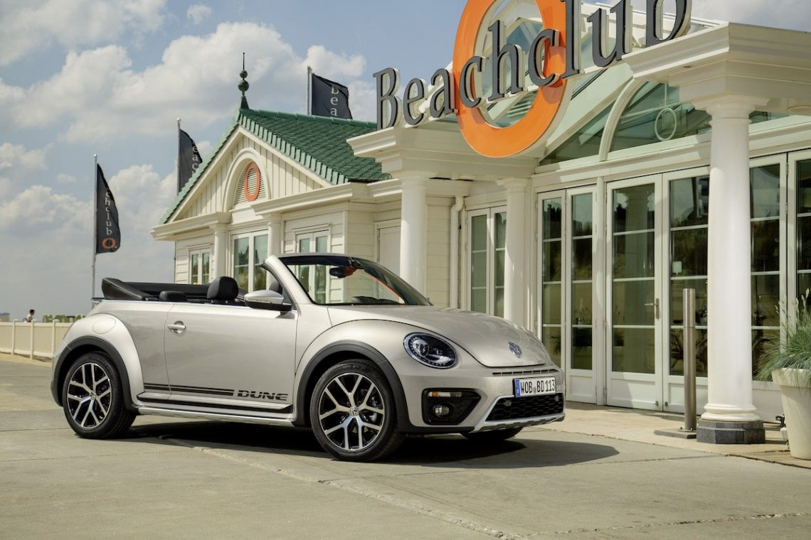 VW Beetle Dune Cabriolet Beachclub O Noordwijk Hotel Oranje