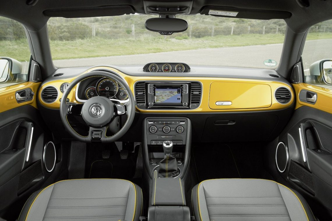 VW Beetle Dune Interior Cockpit Candy Armaturenbrett Innenraum