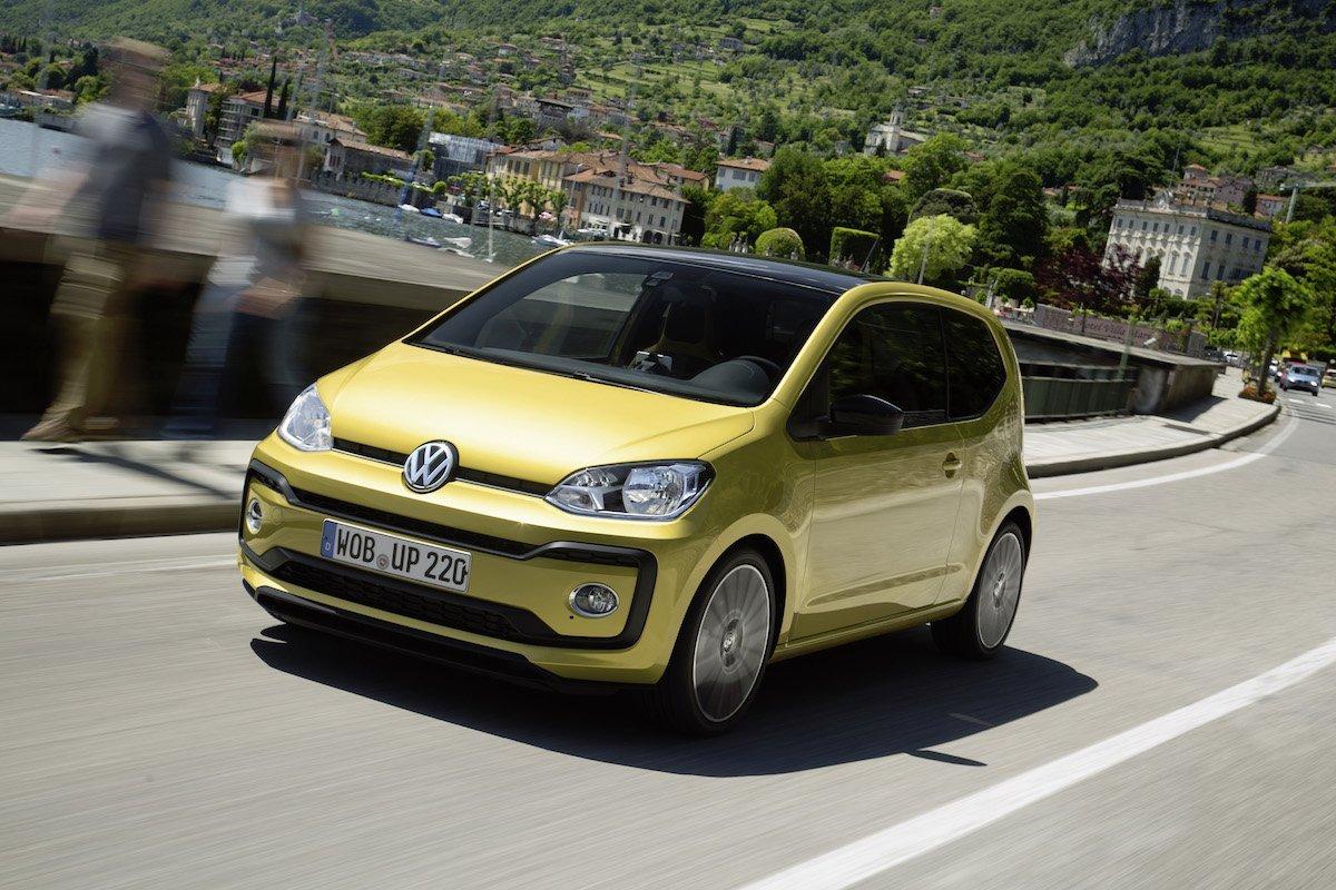 Freie Auswahl beim neuen Volkswagen up! – À la carte war gestern