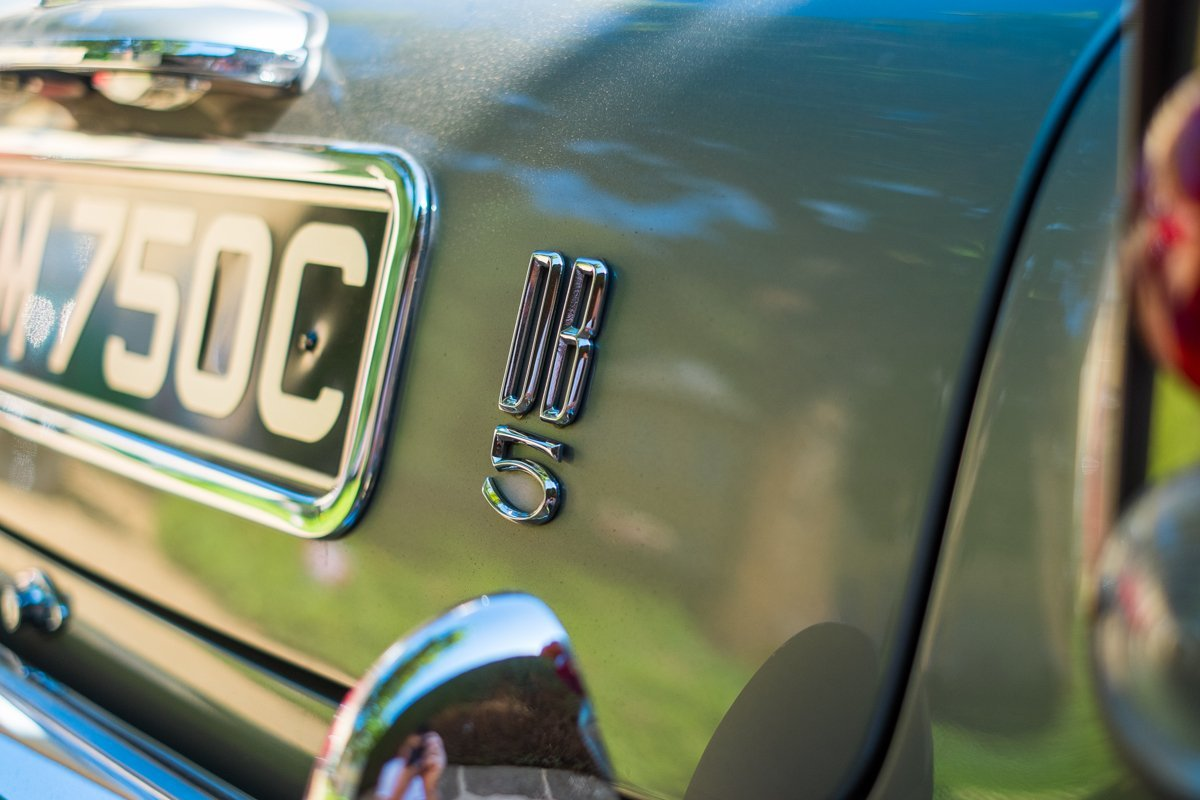 Aston Martin DB5 Emblem
