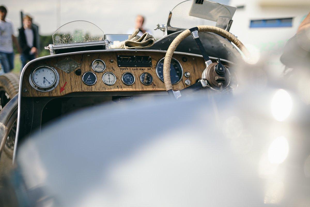 Avd Oldtimer Grand Prix 2016 AvD Oldtimer GP Cockpit 1930 Classic Oldtimer Holz Lenkrad Armaturen