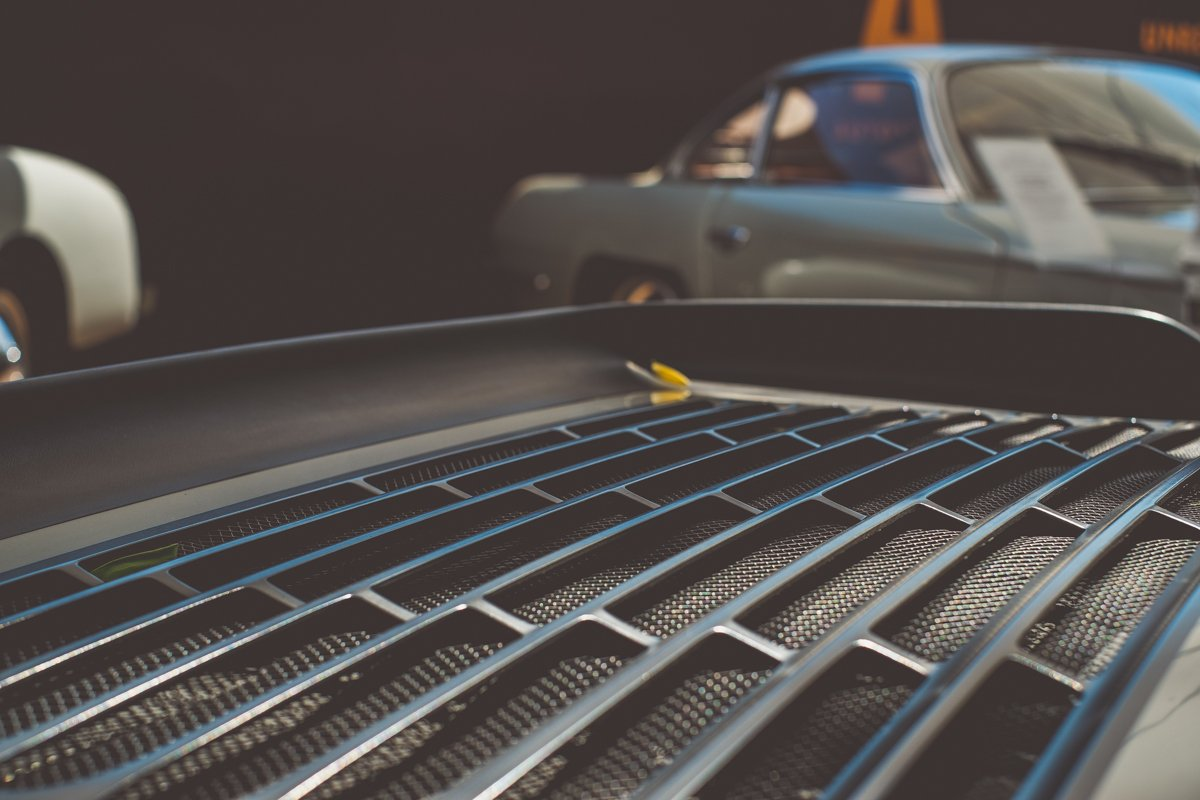 Porsche Carrera 911 Luftgekühlt Heckspoiler Autostadt