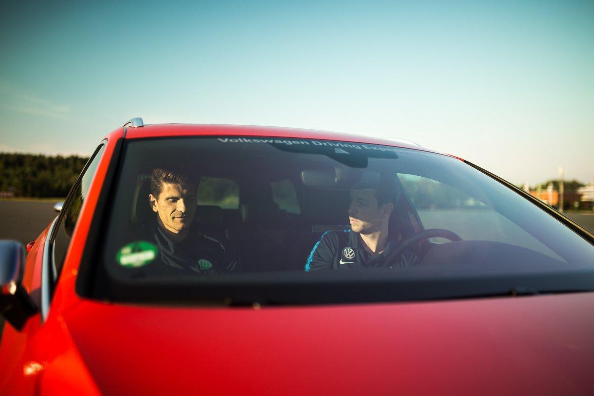 Mario Gomez Volkswagen Passat GTE