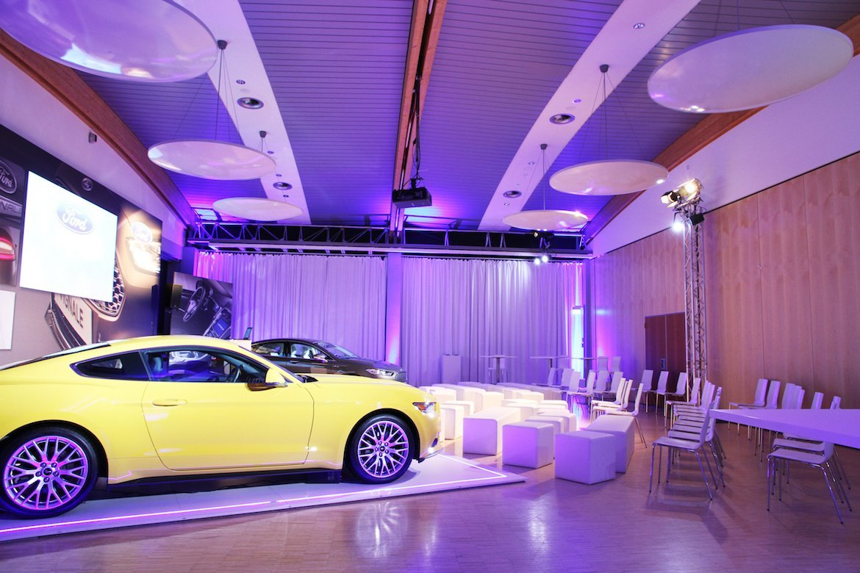 Bio Seehotel Zeulenroda Saalkomplex Ford Mustang Premiere Präsentation Eventlocation
