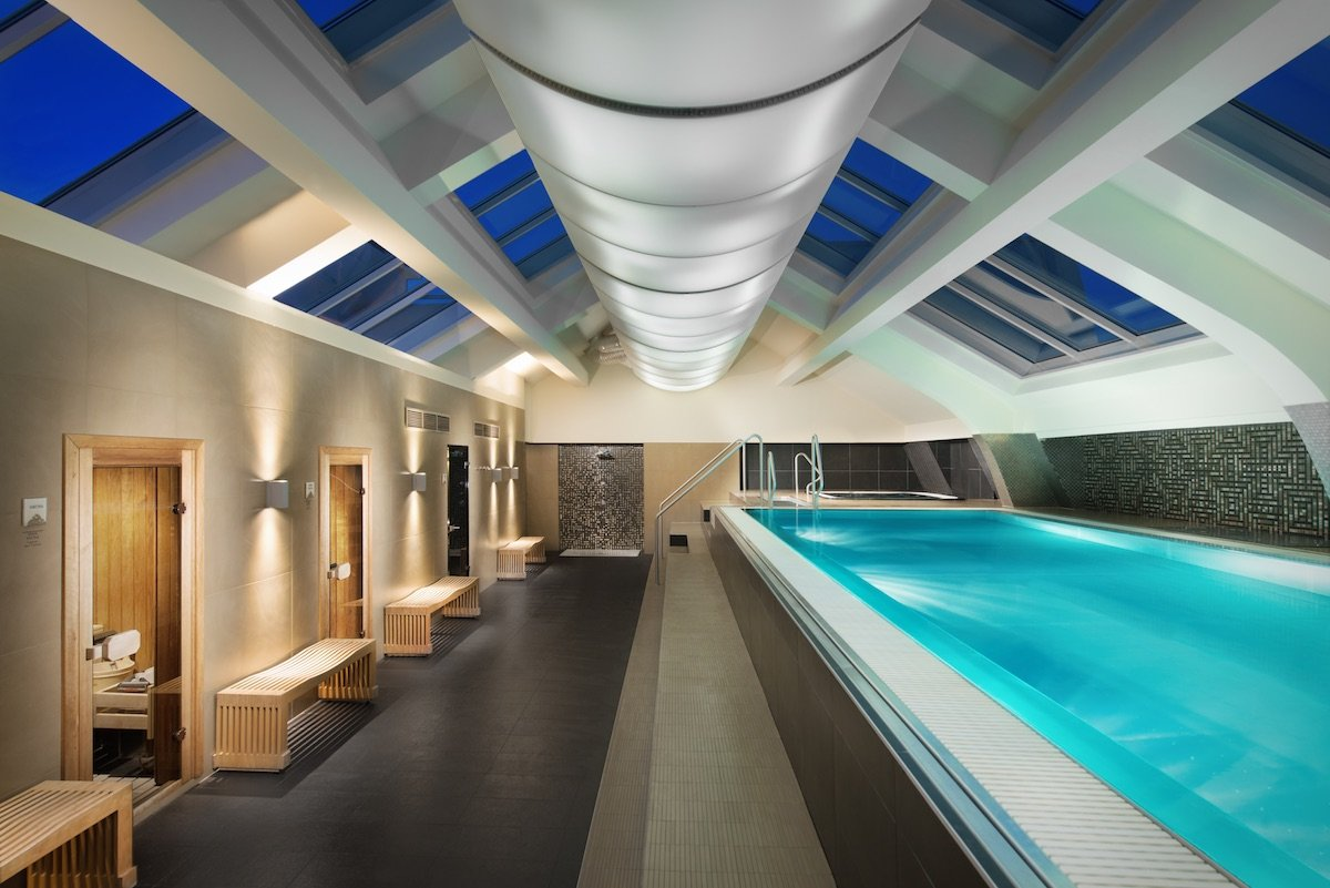 Continental Hotel Budapest Wellness Spa Pool Sauna