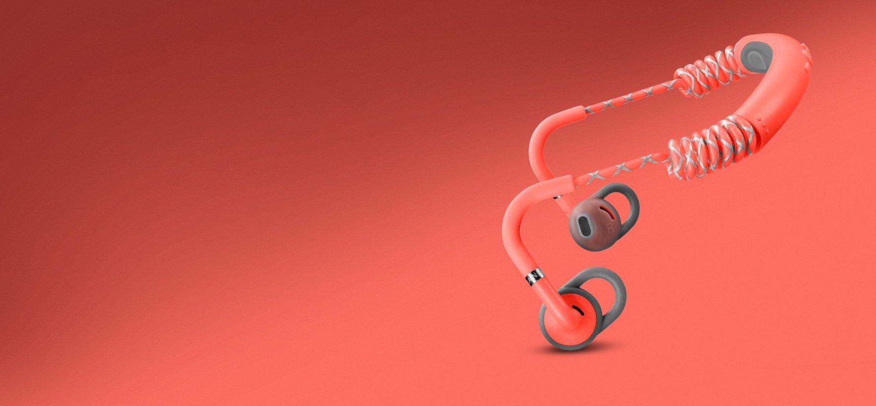 Urbanears Stadion Bluetooth Kopfhörer rot