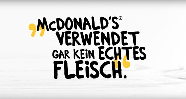 McDonalds verwendet kein echtes Fleisch Fake Amoniak Fett