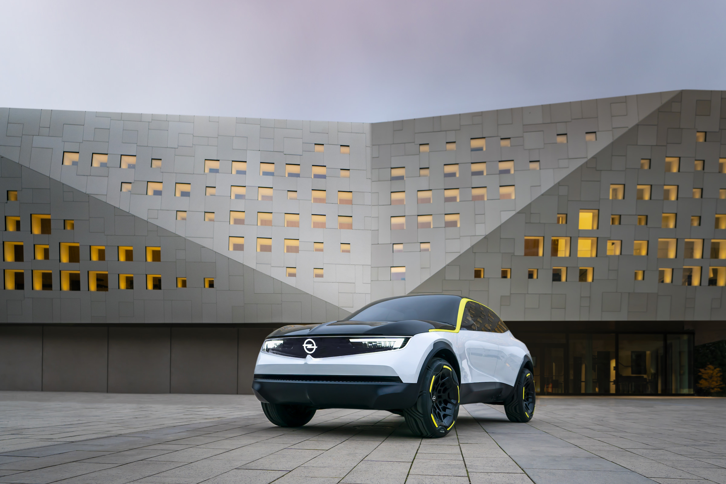 Architektur Opel GT X Experimental Front