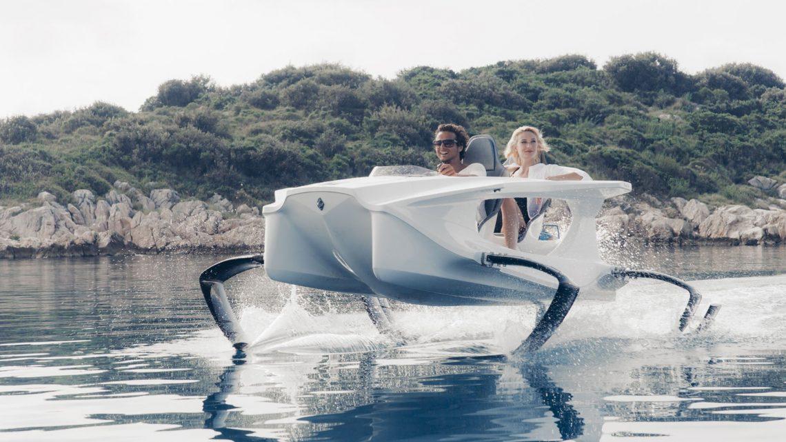 Quadrofoil Q2 Tragflügelboot Elektrisch Gardasee