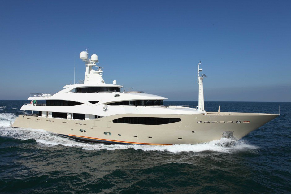 Yacht CRN 125 Meer Luxus Millionär